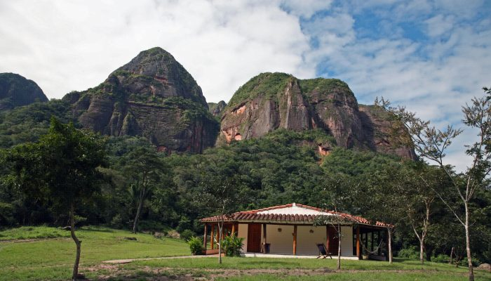 SAMAIPATA - FOUGÈRES GIGANTES - PARQUE AMBORO - REFUGIO VOLCANO