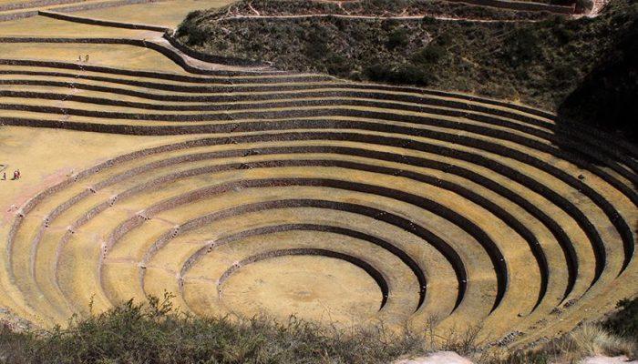 Site Moray cercle concentriques