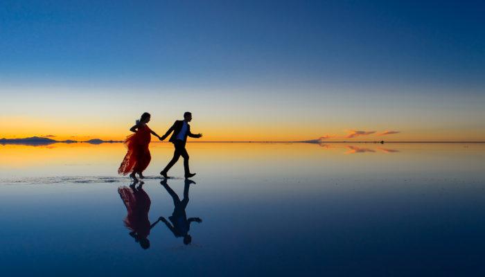 Salar de Uyuni : Entre tierra y cielo