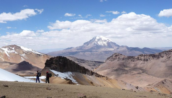 Trek in Sajama Park