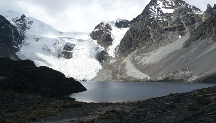 JAYLLAWAYA VALLEY - LAGUNA WARA WARANI - KUNU PAMPA - LAGUNA KHOTIA (4.450 meters / 14 599 feet a.s.l)