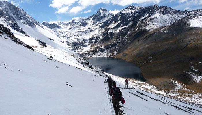LAGUNA AJWANI - LAGUNA JURIKHOTA (4700 meters / 15 419 feet a.s.l)