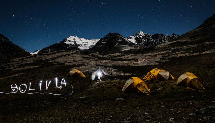 LAGUNA PUJO PUJO – BASE COLOLO CAMP (4680 meters/15,400 feet asl)
