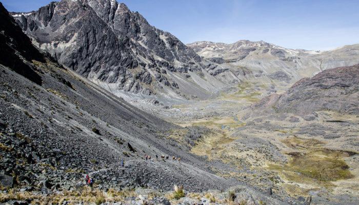 BASE CAMP CHAUPI ORCO - CAMP PALOMANI GRANDE (4730 meters/15,500 feet asl)