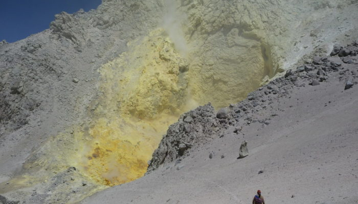 SAN PEDRO DE QUEMEZ - IRUPUTUNCU'S ASCENT (5163 m a.s.l./16,939 ft) - SAN PEDRO DE QUEMEZ