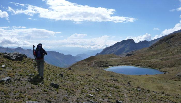 LOJENA - MINA SUSANA - CAMPO VENADO (4300 meters/14,100 feet asl)