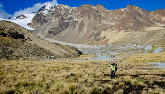 BASE CAMP COLOLO – HIGH CAMP COLOLO (4960 meters/16,300 feet asl)