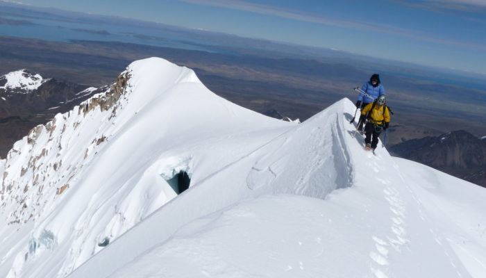 ASCENT OF CHACHACOMANI  - BASE CAMP (4470 m asl. / 14 665 FT)
