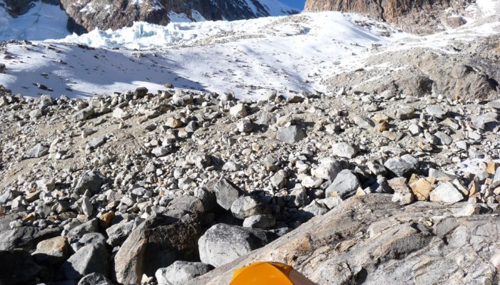 ILLAMPU HIGH CAMP (5090 meters/16,700 feet asl) / REST DAY
