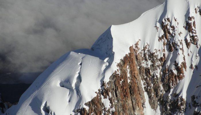 ASCENT OF ILLAMPU - ILLAMPU BASE CAMP (4620 meters/15,200 feet asl)