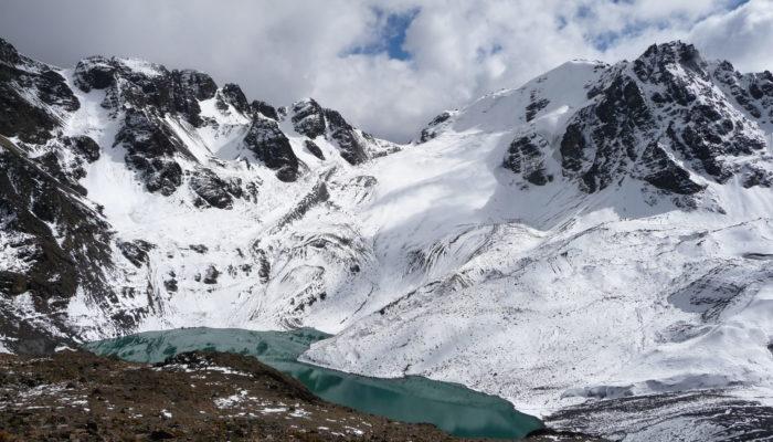 TUNI - CHIARKHOTA'S HIKING - PICO AUSTRIA (5300 m a.s.l./17,388 ft)