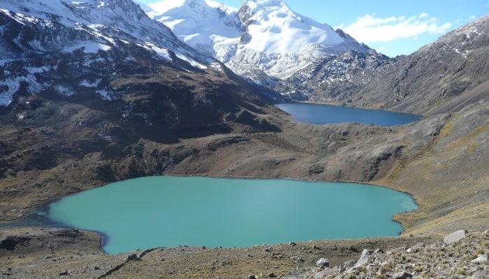 CHUQUIÑAPI - LAGUNA KACHA - LAGUNA CHOJNA QUTA (4720 meters/15,500 feet asl)