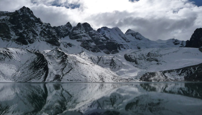 LAGUNA JURIKHOTA - LAGUNA CONGELADA - AUSTRIA PASS - LAGUNA CHIARKHOTA (4680 meters / 15 354 FT)