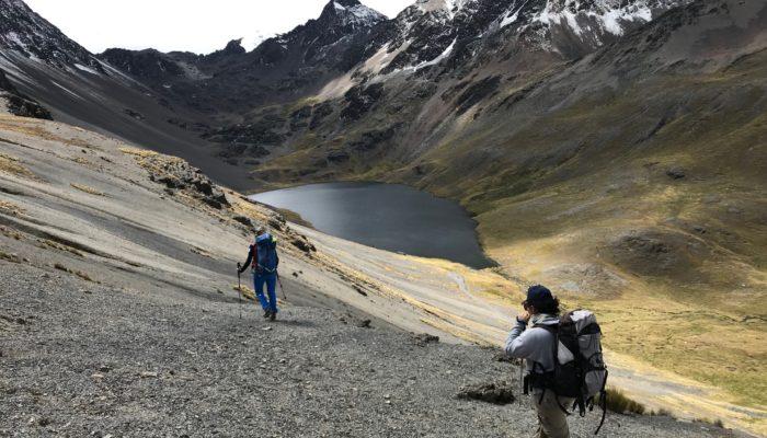 LAPAZ - LAGUNA KHOTIA - LAGUNA AJWANI (4615 meters / 15 141 feet asl.)