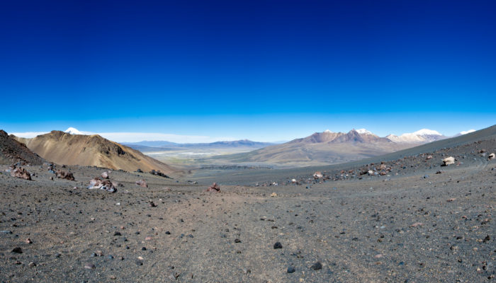 LA PAZ - SAJAMA – PARINACOTA BASE CAMP (5.135 meters / 16 847 feet asl.)