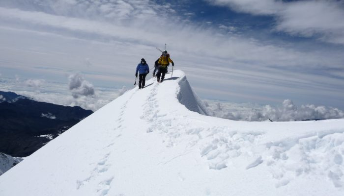 ASCENT OF CHACHACOMANI (6074 m.a.s.l./ 19 927 feet) - BASE CAMP (4470 m.a.s.l. / 14 665 feet)