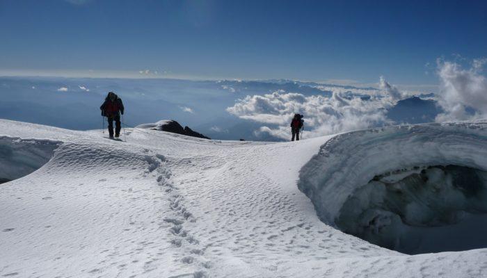 Ancohuma Ascent