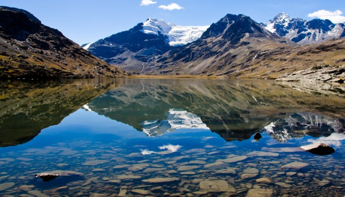 LAGUNA PUJO PUJO – CAMP COLOLO (4680 m.a.s.l./15350 feet)
