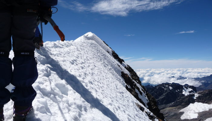 ASCENT OF THE HEAD OF THE CONDOR (5648 M.A.S.L./15354 FEET)