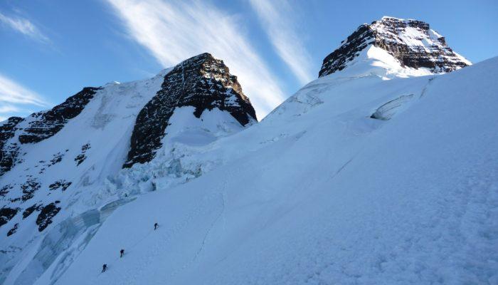 Condoriri Ascent